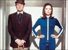 The Avengers. This is what I call great tv, a series from the 60´s, Emma Peel and John Steed everyone. A show that defined fashion, lifestyle and furniture of a whole generation.