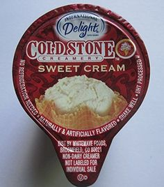 International Delight Cold Stone Creamery Sweet Cream Coffee Creamer Single Serve Cups Case of 288 ** Discover this special product, click the image : Fresh Groceries Oprah Quotes, Cold Stone Creamery, Non Dairy Creamer, Amazon Website, Coffee Creamer, Grocery Lists, Cream Recipes, Coffee Drinks, Drinking Tea