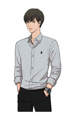 Suho ☆the secret of angel Suho, I Love Yoo Webtoon, Kim Song, Boy Sketch, Angel Wallpaper, Boy Illustration, Webtoon Comics, Korean Art, Body Poses