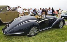 1938 Alfa Romeo 8C 2900B Touring Spider - dark blue - rvr 2 | Flickr - Photo Sharing!