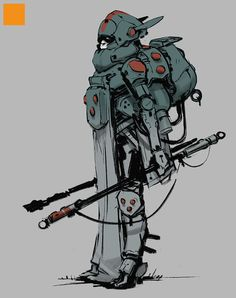 by Darren Bartley Character Concept, Character Art, Concept Art, Post Apocalypse, Illustrations, Illustration Art, Sci Fi Characters, Creature Concept, Animation
