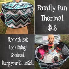 Family fun thermal. Fall 2015 Thirty-One 1/2 price in August as customer special offer