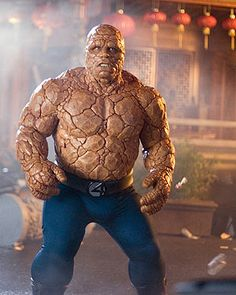 Michael Chiklis as The Thing.