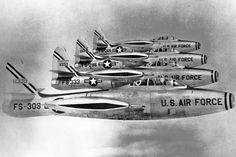 """Republic (F-84E) F-84G """"Thunderjets"""""""
