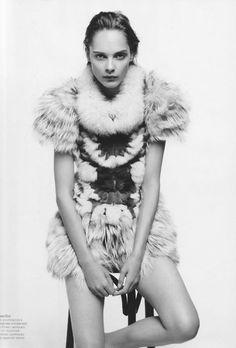 black and white photogaphry #fur #fashion  ~Chloe Monroe