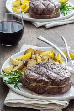 Food photography / Jill Silverman Hough A recipe I created and photographed for Grgich Hills Estate Winery #foodphotography #beef #steak