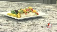 Dress up your fish with a mango avocado salsa.