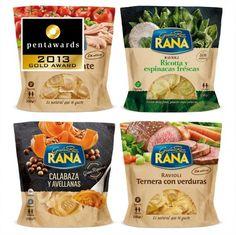 Design : Brandward pour la marque Rana (Espagne) // Catégorie : Céréales #food #packaging et plus encore sur http://www.communication-agroalimentaire.com