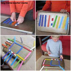 Magnet Popsicle Sticks
