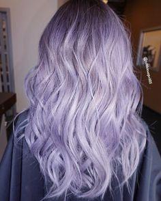 Lilac silver hair