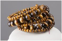 Tiger's Eye. I need a good neutral bracelet to go with all my browns and blues...