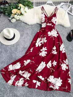 Sexy Summer Dresses, Lovely Dresses, Casual Dresses, Casual Outfits, Dress Outfits, Cool Outfits, Dress Up, Teen Fashion Outfits, Fashion Dresses