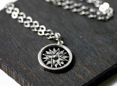Steampunk Compass Necklace. $18.00, via Etsy.