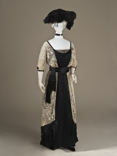 Day Dress Callot Soeurs, 1910-1915 The Los Angeles County Museum of Art