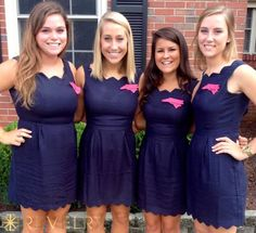 Custom group order dresses for sorority recruitment! Unlimited colors, sizes, and styles!  RevelryDresses.com #recruitmentready