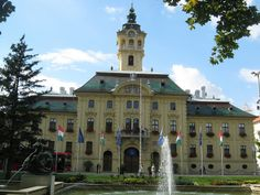 City Hall of Szeged - Széchenyi Square, Szeged, Hungary