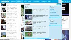 Mashable #search #ux #design