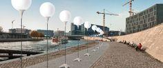 """Mauerfall 2014 – """"Lichtgrenze"""" zum 25.Jubiläum in Berlin: 25 Jahre Mauerfall"""