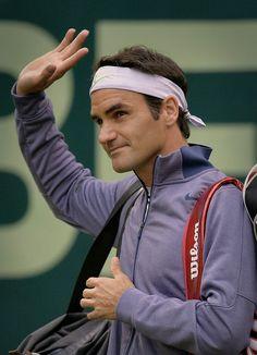 Roger Federer Halle 2013