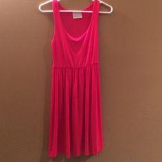 Sleeveless red dress Sleeveless red dress. 94% viscose and 6% spandex Dresses Midi