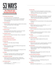 [Link to download] 53 Ways to Check for Understanding
