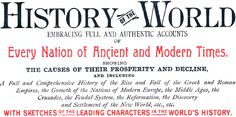 Free World History Educational Materials