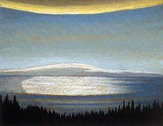 Lawren Harris c.1924 Afternoon, Lake Superior