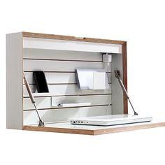 Flatbox Sekretär - Weiß - alt_image_three