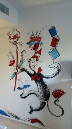 My Dr Seuss nursery!!
