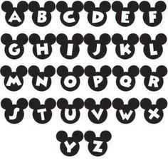 Mickey Mouse Disney font 2 inch alphabet letters monogram Mickey Mouse Disney font 2 inch alphabet letters monogram The post Mickey Mouse Disney font 2 inch alphabet letters monogram appeared first on Paris Disneyland Pictures. Minnie Mouse Font, Mickey Mouse Letters, Theme Mickey, Mickey Mouse 1st Birthday, Mickey Party, Mickey Font, Disney Alphabet, Disney Letters, Deco Disney