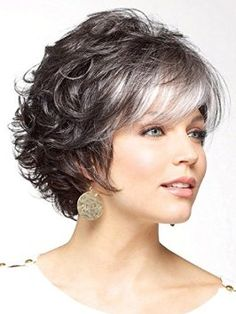 short curly shag hairstyle - Google Search
