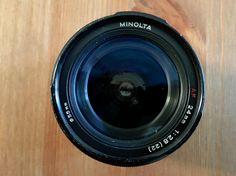 Minolta 24mm f2.8 AF Autofocus Prime Lens by OldCamerasAndStuff