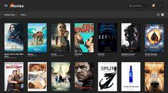 cool Web Design Speed Art - Movie Site   Buy Tickets   Watch Movies - in Adobe Xd