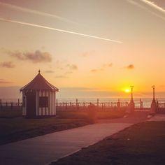 Best way to start the weekend! #sunrise #bray #beach