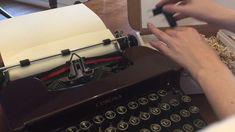 Typewriter Gift Box Vintage Interiors, Typewriter, Manual, Paper Crafts, Box, Gifts, Snare Drum, Presents, Textbook