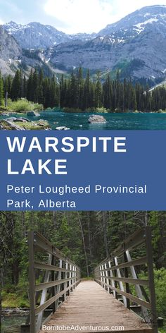 Warspite Lake Black Prince Cirque // Hikes in Canada // Canmore // Banff // Calgary// Hikes for Families // Hikes for Kids // Explore Canada // Travel Alberta // Trails // Travel Family // Kananaskis // Peter Lougheed Provincial Park Canadian Travel, Canadian Rockies, Visit Canada, Canada Eh, Parks Canada, Alberta Travel, Hiking With Kids, Koh Tao, Hiking Trails