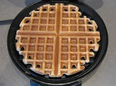 Low carb coconut flour waffles. Best low carb waffle recipe I have found. Goes great with sugar-free syrup or berries.