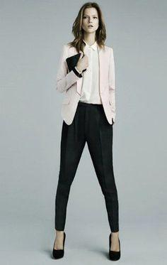 Resultado de imagen para pantalon de terno mujer