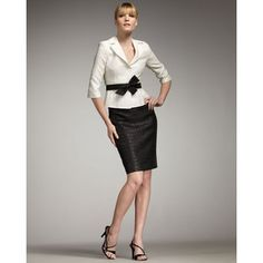 Jacket and Skirt by Kay Unger