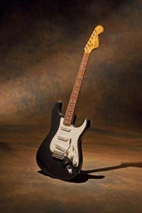 1972 Fender Stratocaster. A Richie Blackmore special. I wanted one like his so I bought this from Rumbleseat music.
