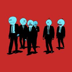 Mr Meeseeks Dogs T-Shirt T-Shirts Rick and Morty and Reservoir Dogs Mashup