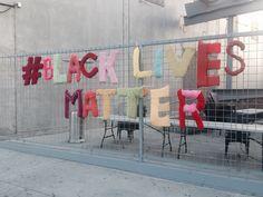 """beyonceprivilege: """"spotted in LA #blacklivesmatter """""""