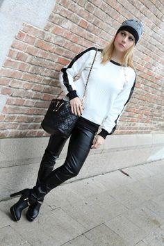 #Mamaredba Bianco. Inverno. E pelle. | TheChiliCool Fashion Blog ItaliaTheChiliCool Fashion Blog Italia