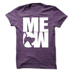 MEOW - #gifts for boyfriend #money gift. GET => https://www.sunfrog.com/Pets/MEOW-71595124-Guys.html?68278