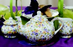 Wouldn't you LOVE to have Tea every morning using this beautiful set!? Stop and enjoy the BeauTEA in life <3