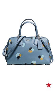 3c954f5fb67e COACH NOLITA SATCHEL IN FLORAL PRINT PEBBLE LEATHER   Reviews - Handbags    Accessories - Macy s