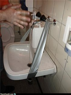 If This Is Your Idea of a DIY Plumbing Repair... It's Time You Call a Professional