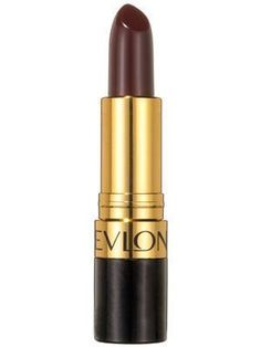 Revlon Super Lustrous Lipstick in Black Cherry feels creamy and conditioning when applied and leaves the lips with a satiny sheen. | allure.com