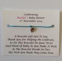 Baby shower party game charades blue amazon toys 5 x personalised baby shower wish bracelets favoursgifts pink amazon negle Choice Image