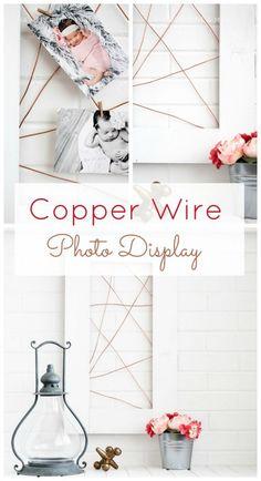 copper-wire-photo-holder